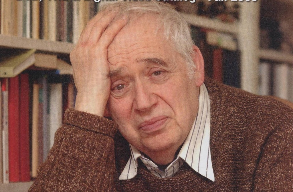 Harold Bloom at home